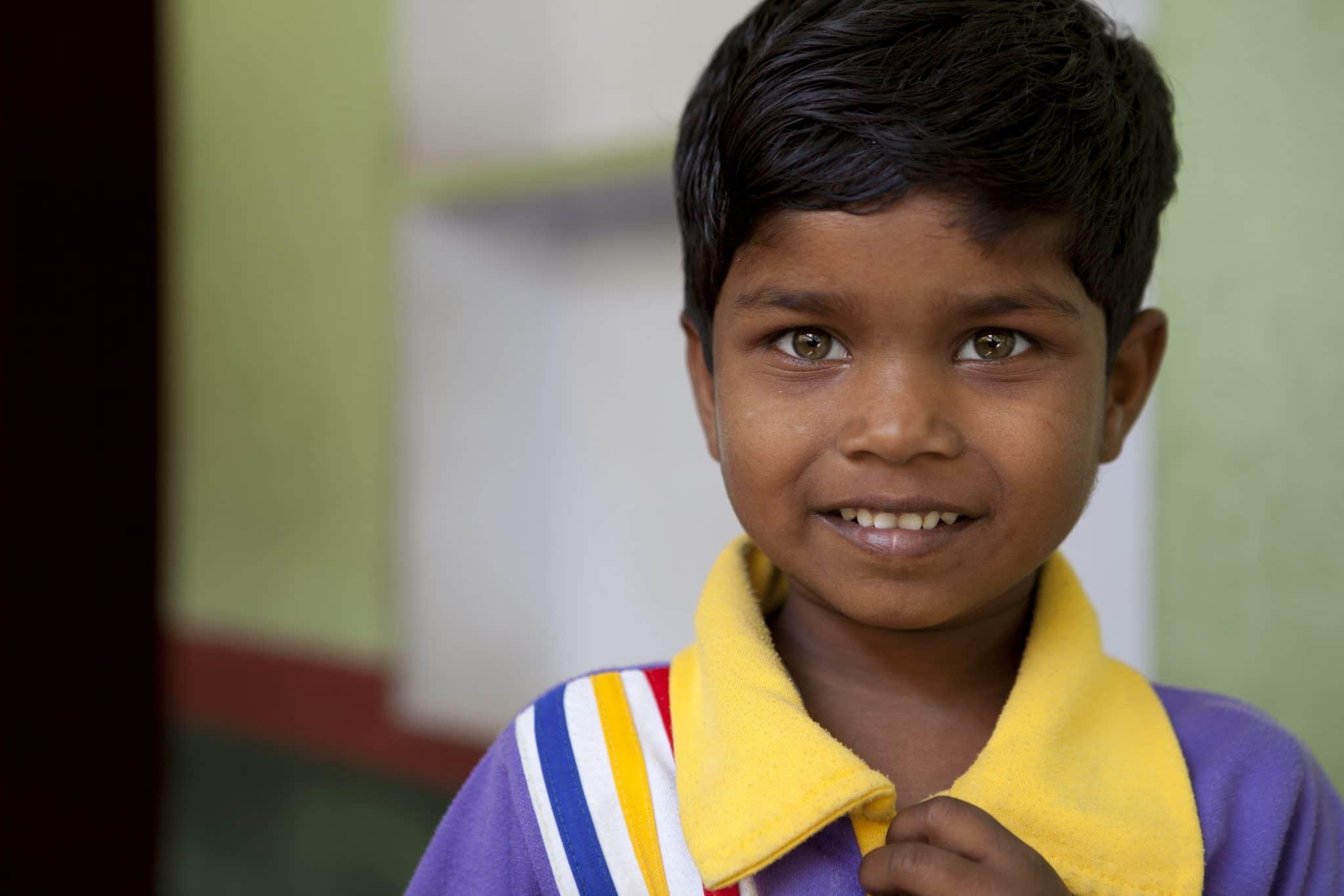 Schülerin aus Varanasi