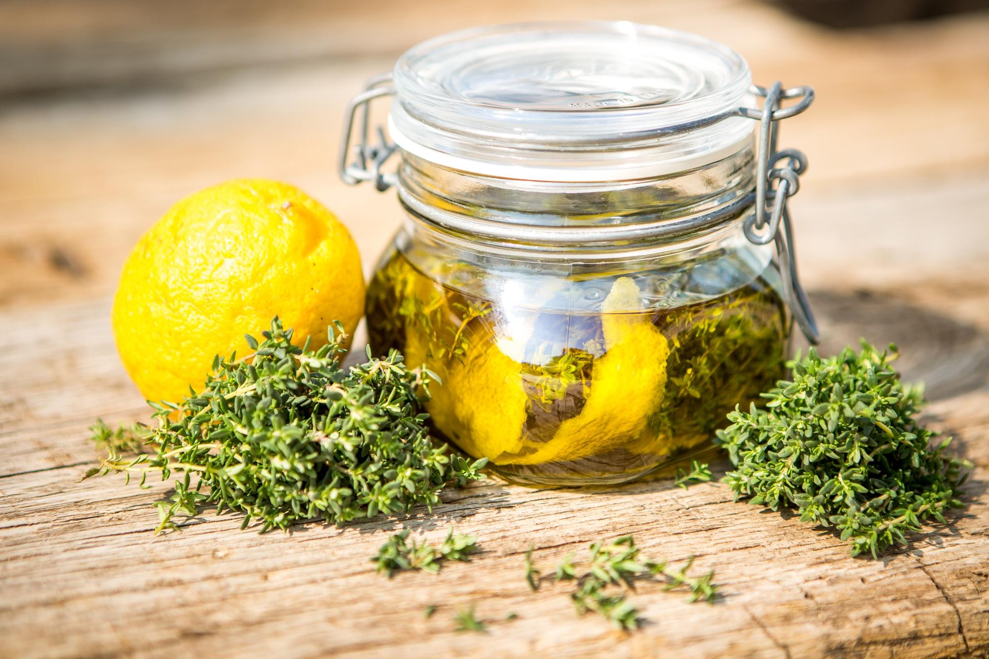 aromatisiertes Olivenöl