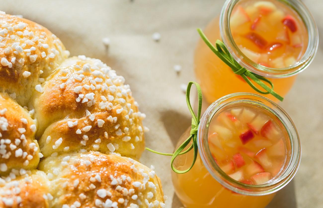 Apfel-Holunder-Gelee
