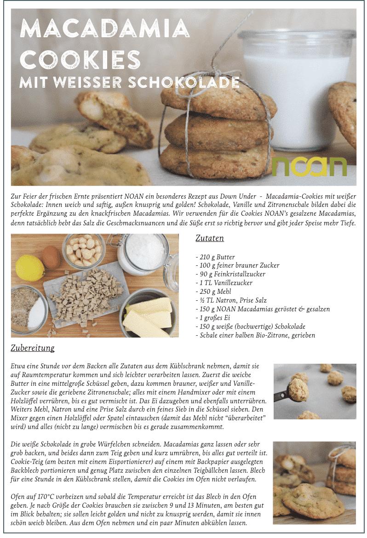 Rezept Cookies im Glas