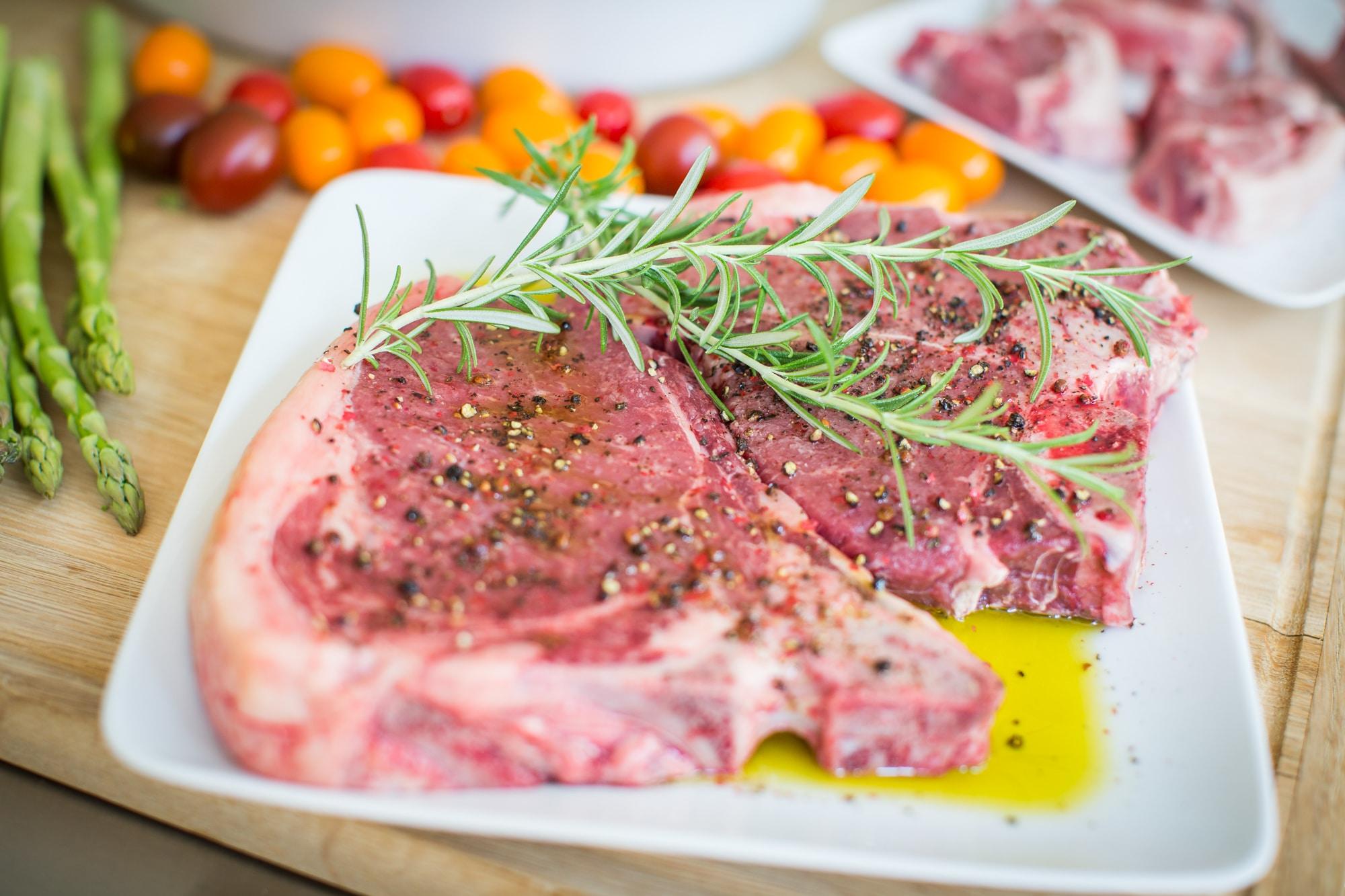 gegrilltes T-Bone Steak