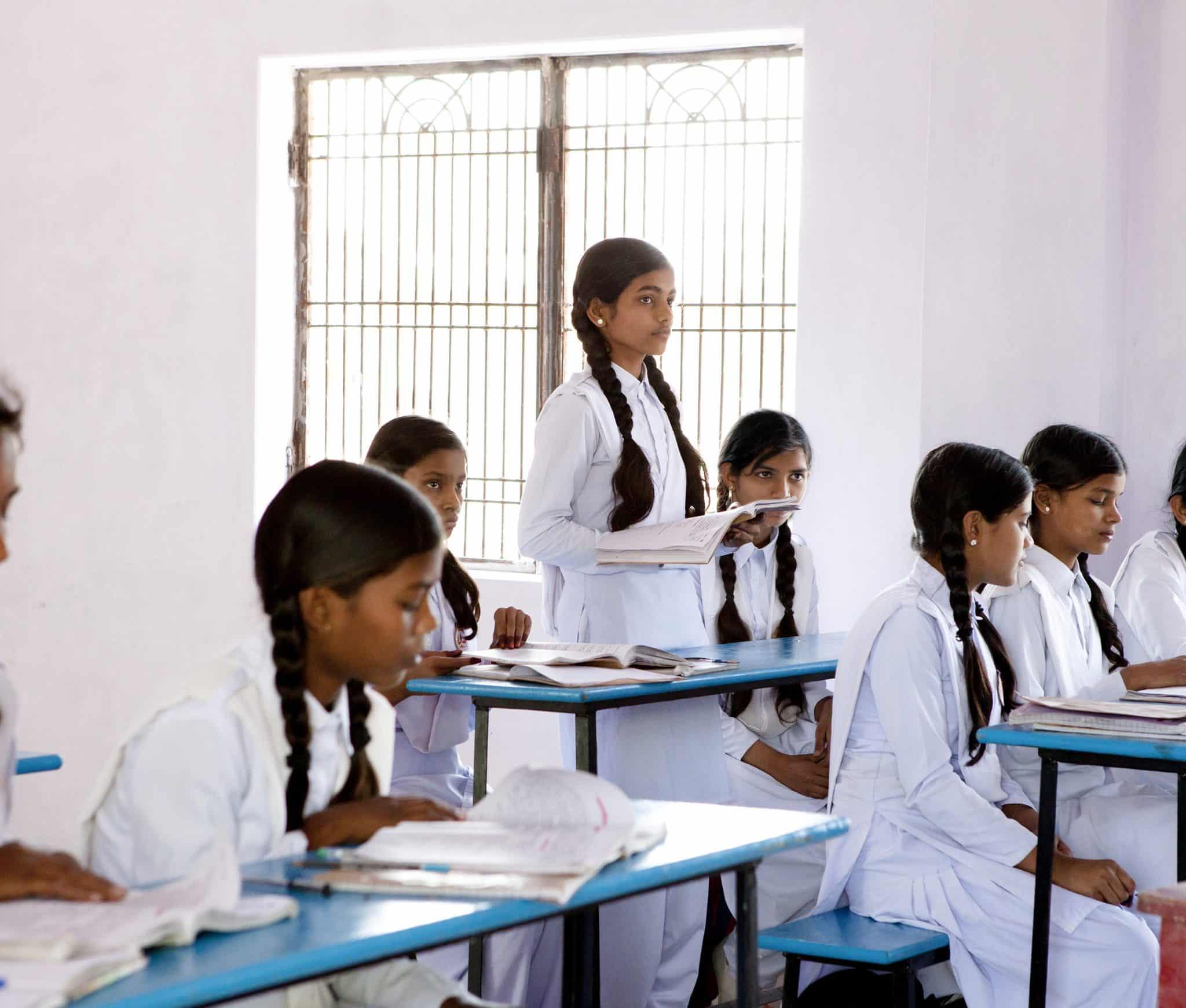 Varanasi Schulprojekt Light of Love