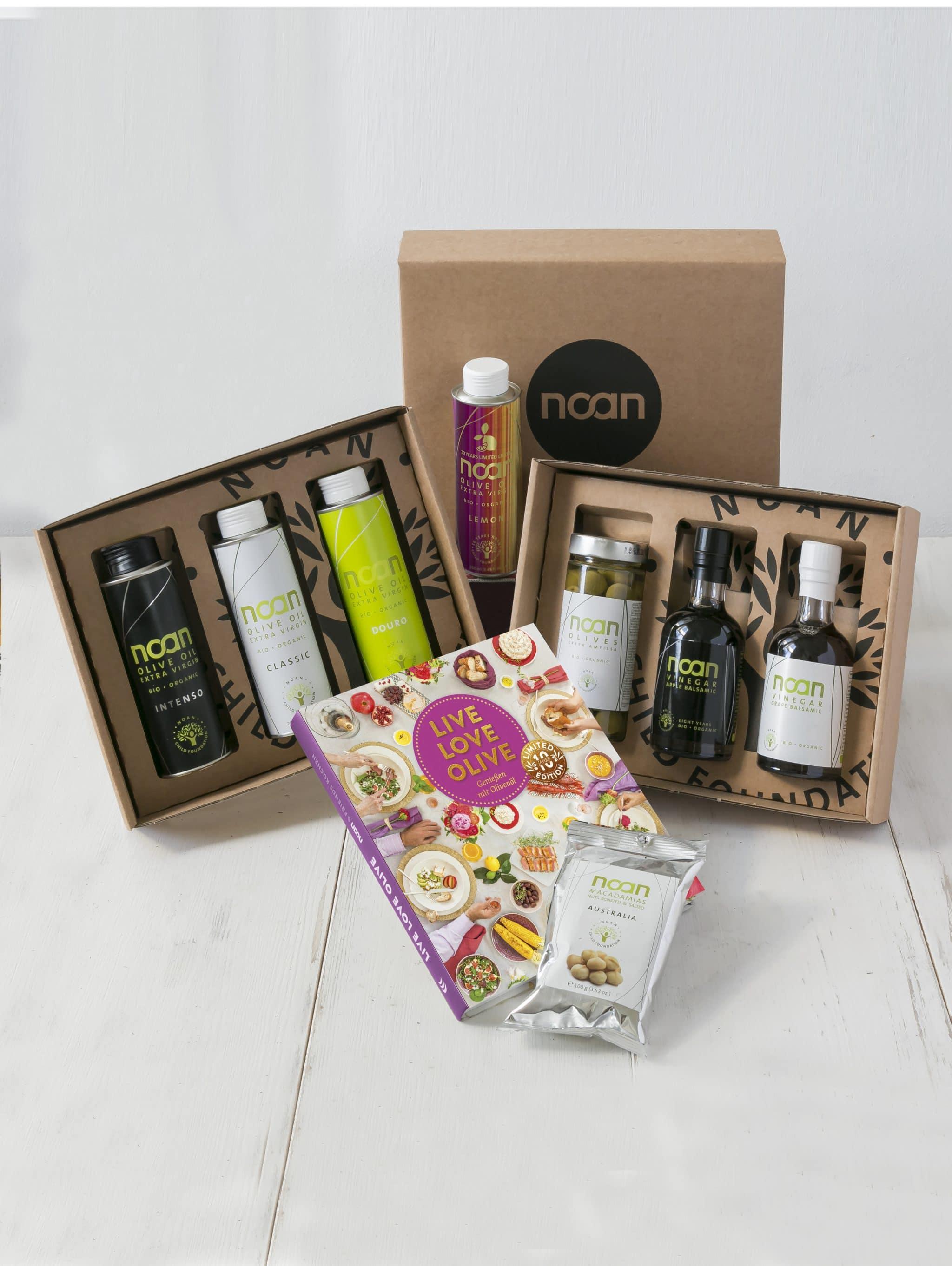 Auswahl an NOAN Geschenks-Sets