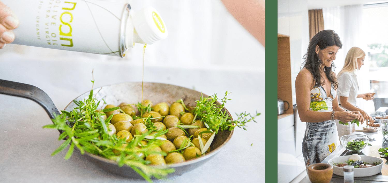 oliven kochen