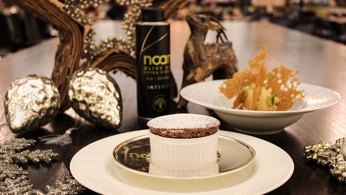 Weihnachtsmenü Nachspeise: Schokoladen-Soufflé