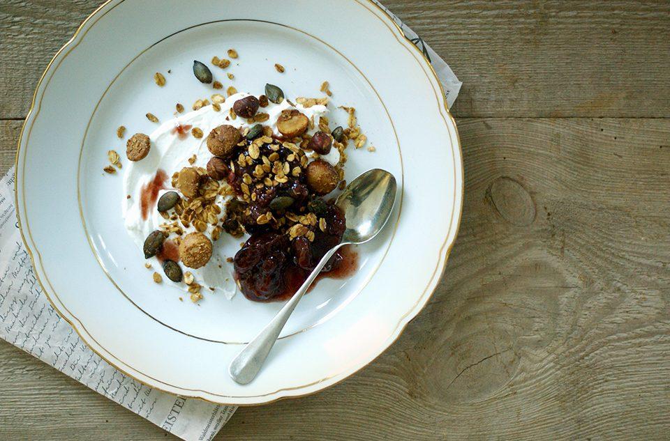 Macadamia-Granola Noan Blog Olivenöl
