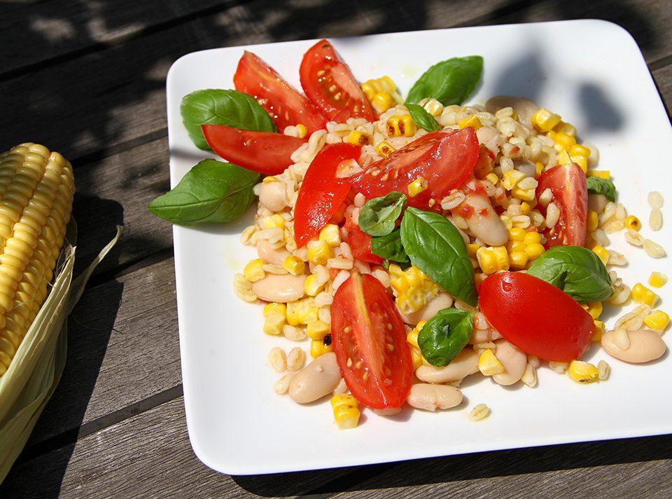 Zartweizen-Salat