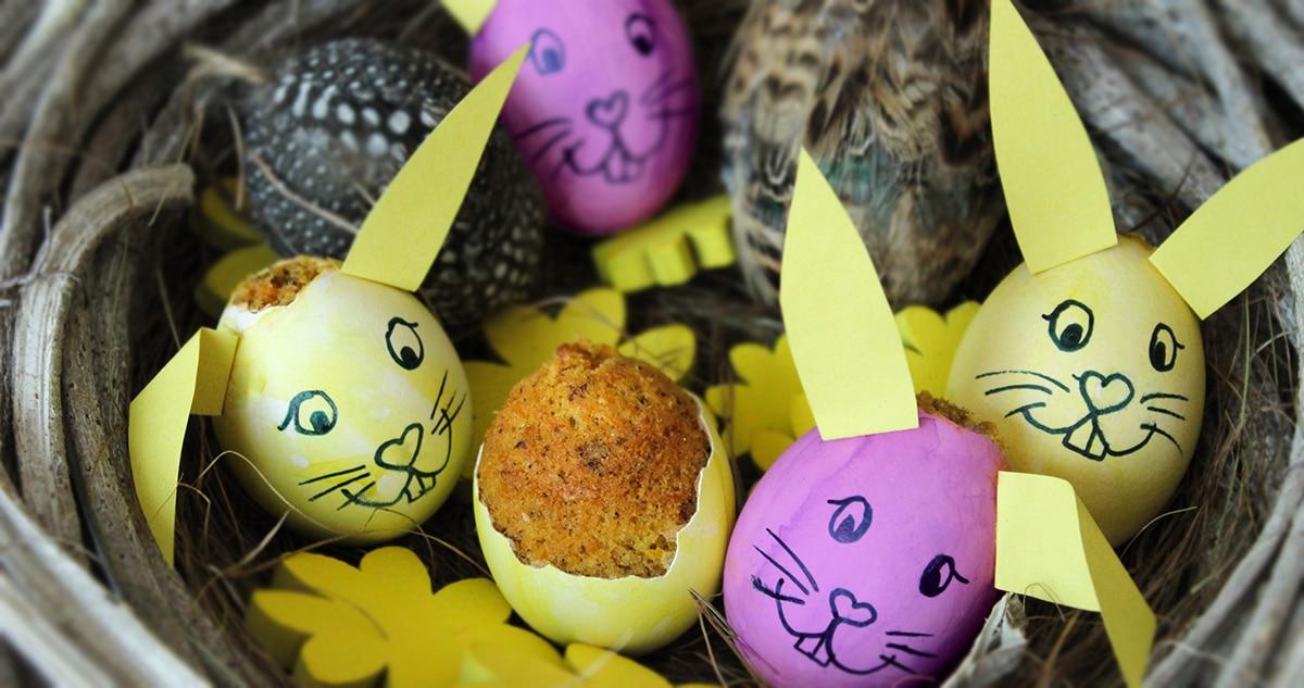 Noan Ostern geschlüpfter Hase Blog
