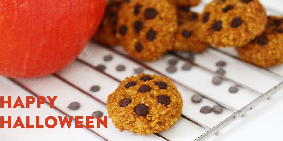 Kürbis-Macadamia-Cookies