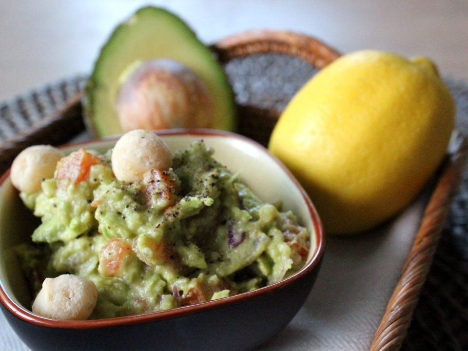 Macadamia Guacamole Avocado Facts Noan