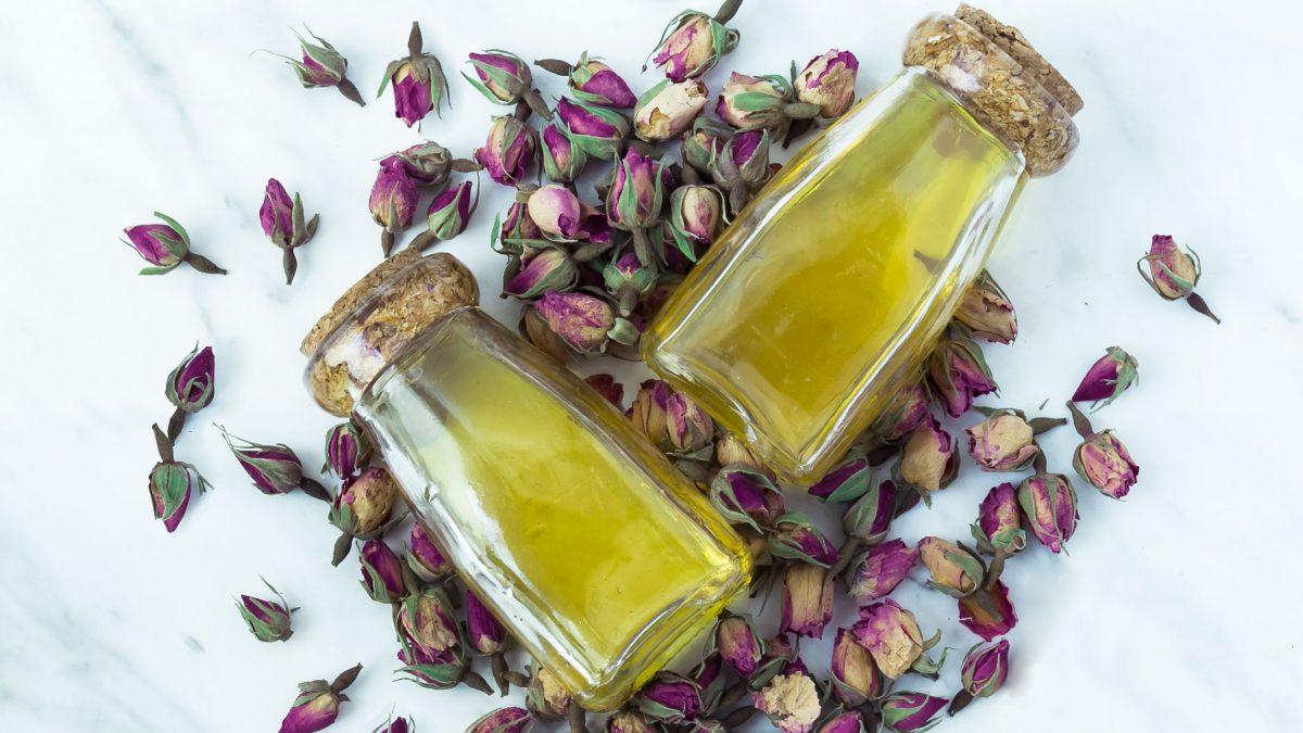Badeöl selbermachen mit Olivenöl