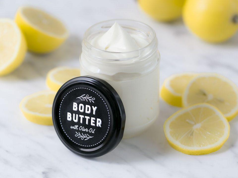 Body Butter selber machen - mit Olivenöl