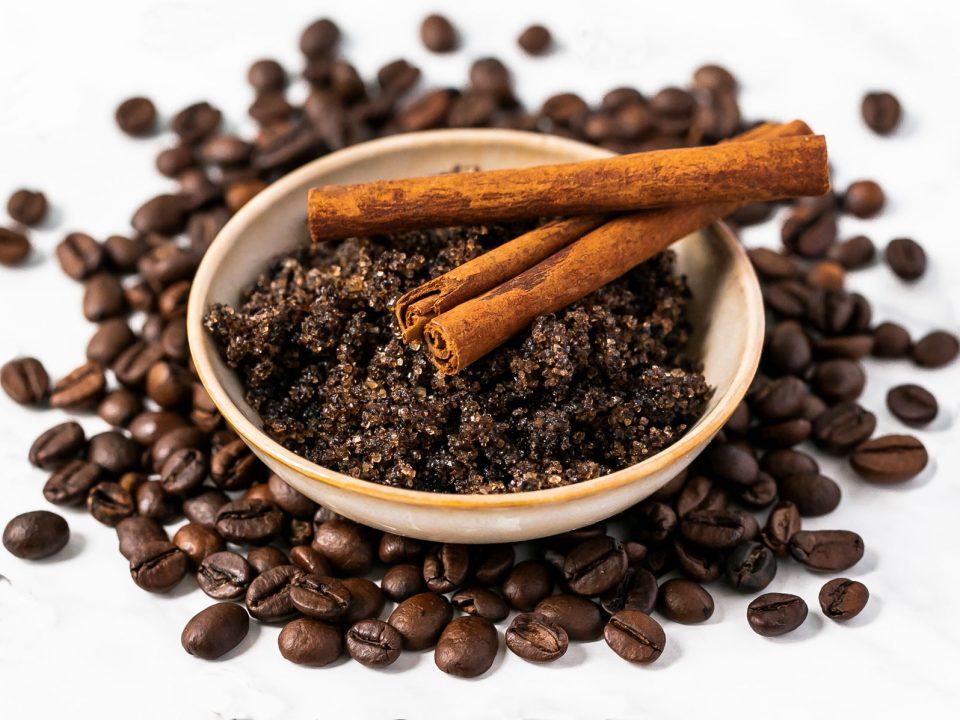 Kaffee-Peeling